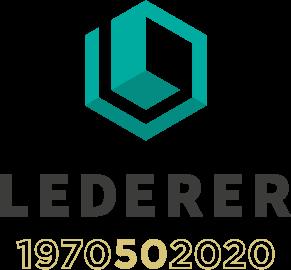 lederer logo 50 jahre